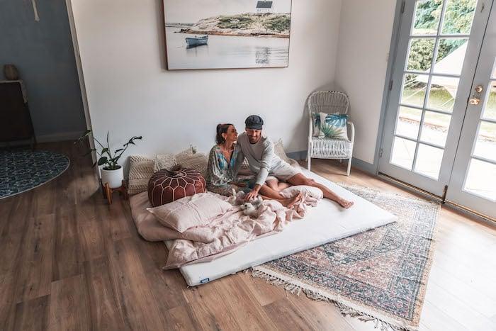 MishAndKirk on their new Ecosa mattress