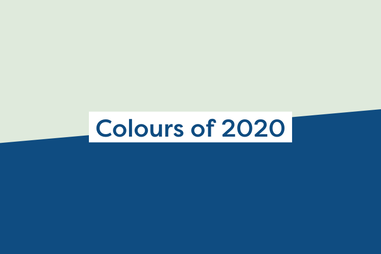Dulux and Pantone Colours of the Year 2020